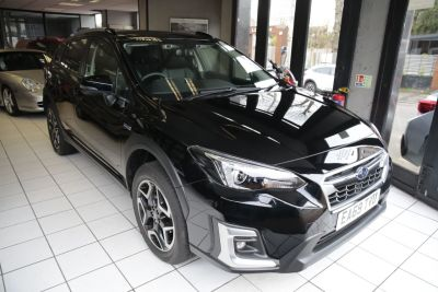 Subaru XV 2.0i e-Boxer SE Premium 5dr Lineartronic Hatchback Petrol / Electric Hybrid Black at Woodford Motor Co Ltd Woodford Green