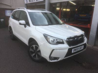 Subaru Forester 2.0 XE Lineartronic 5dr Estate Petrol White at Woodford Motor Co Ltd Woodford Green