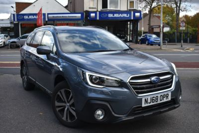 Subaru Outback 2.5i SE Premium 5dr Lineartronic Estate Petrol Grey at Woodford Motor Co Ltd Woodford Green