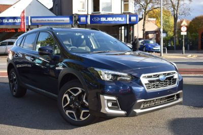Subaru XV 2.0i e-Boxer SE Premium 5dr Lineartronic Hatchback Petrol / Electric Hybrid Blue at Woodford Motor Co Ltd Woodford Green