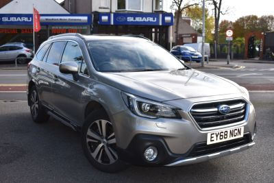 Subaru Outback 2.5i SE Premium 5dr Lineartronic Estate Petrol Gold at Woodford Motor Co Ltd Woodford Green
