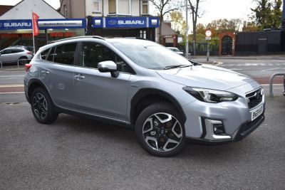 Subaru XV 2.0i e-Boxer SE Premium 5dr Lineartronic Hatchback Petrol / Electric Hybrid Silver at Woodford Motor Co Ltd Woodford Green