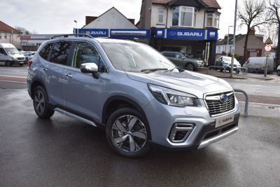 Subaru Forester 2.0i e-Boxer XE Premium 5dr Lineartronic Estate Petrol / Electric Hybrid Silver at Woodford Motor Co Ltd Woodford Green