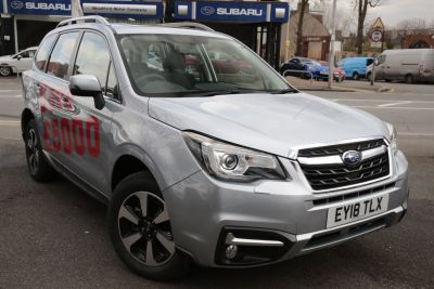 Subaru Forester 2.0D XC 5dr Estate Diesel Ice Silver at Woodford Motor Co Ltd Woodford Green