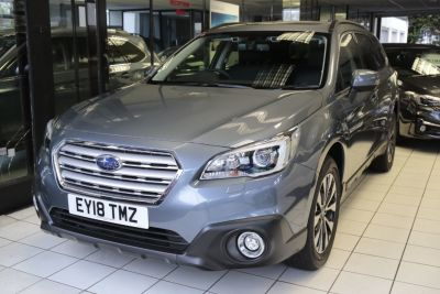 Subaru Outback 2.5i SE Premium 5dr Lineartronic Estate Petrol Platinum Grey at Woodford Motor Co Ltd Woodford Green