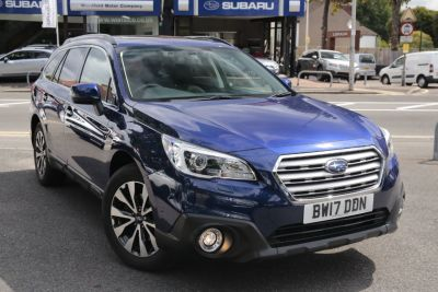 Subaru Outback 2.5i SE Premium 5dr Lineartronic Estate Petrol Blue at Woodford Motor Co Ltd Woodford Green