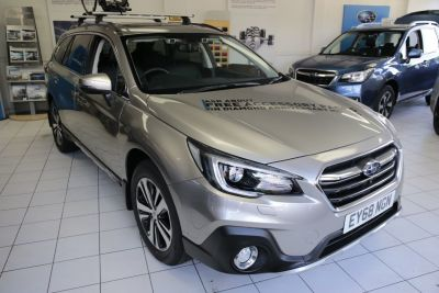 Subaru Outback 2.5i SE Premium 5dr Lineartronic Estate Petrol Tungsten at Woodford Motor Co Ltd Woodford Green