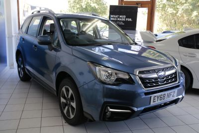 Subaru Forester 2.0 XE Premium Lineartronic 5dr Estate Petrol Blue at Woodford Motor Co Ltd Woodford Green