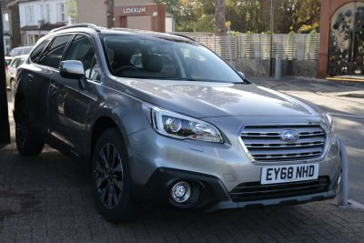 Subaru Outback 2.0D SE Premium 5dr Lineartronic Estate Diesel Tungsten at Woodford Motor Co Ltd Woodford Green