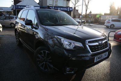 Subaru Forester 2.0 XT 5dr Lineartronic Estate Petrol Grey at Woodford Motor Co Ltd Woodford Green