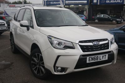 Subaru Forester 2.0 XT 5dr Lineartronic Estate Petrol Crystal White Pearl at Woodford Motor Co Ltd Woodford Green