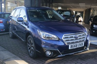 Subaru Outback 2.0D SE Premium 5dr Lineartronic Estate Diesel Blue at Woodford Motor Co Ltd Woodford Green