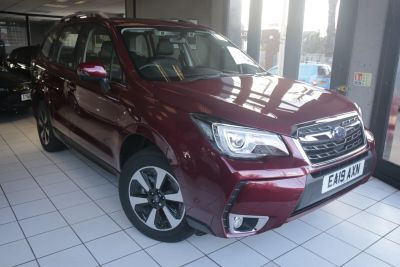 Subaru Forester 2.0 XE Premium Estate Petrol Red at Woodford Motor Co Ltd Woodford Green