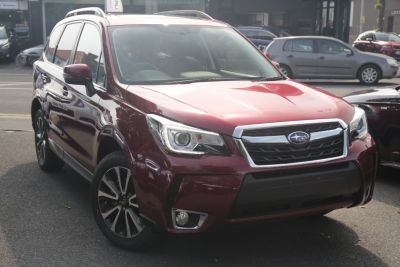 Subaru Forester 2.0 XT 5dr Lineartronic Estate Petrol Red at Woodford Motor Co Ltd Woodford Green