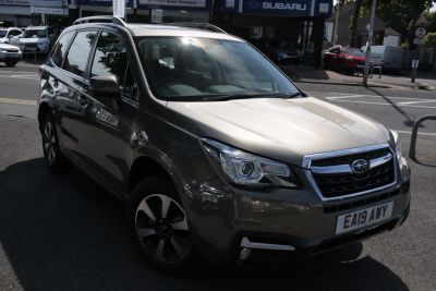 Subaru Forester 2.0 XE Lineartronic 5dr Estate Petrol Sepia Bronze at Woodford Motor Co Ltd Woodford Green