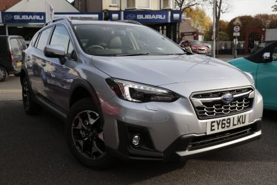 Subaru XV 1.6i SE Premium 5dr Lineartronic Hatchback Petrol Silver at Woodford Motor Co Ltd Woodford Green