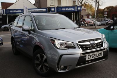 Subaru Forester 2.0 XE Premium Lineartronic 5dr Estate Petrol Silver at Woodford Motor Co Ltd Woodford Green