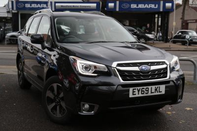Subaru Forester 2.0 XE Premium Lineartronic 5dr Estate Petrol Dark Grey at Woodford Motor Co Ltd Woodford Green